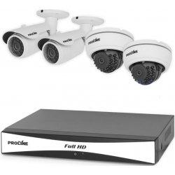 Проводной HD комплект видеонаблюдения на 4 камеры Proline K4120DW AHD