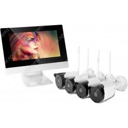 Уличный цифровой Wi-Fi IP комплект видеонаблюдения Kvadro Vision I-Stiv Street