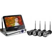 Уличный цифровой Wi-Fi IP комплект видеонаблюдения Kvadro Vision Optimus