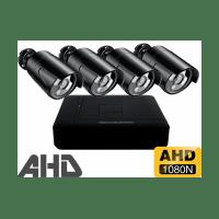 Проводной AHD комплект видеонаблюдения на 4 камеры Longse AHD Light 4CH