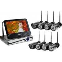 Уличный цифровой Wi-Fi IP комплект видеонаблюдения Okta Vision Optimus