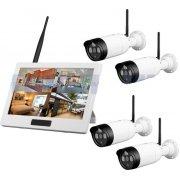 Беспроводной комплект видеонаблюедния на 4 уличные камеры 8118HD4