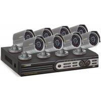 Профессиональный видеокомплект на 8 уличных камер UControl Бизнес 7S