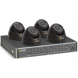 Проводной купольный комплект видеонаблюдения на 4 камеры UControl Офис