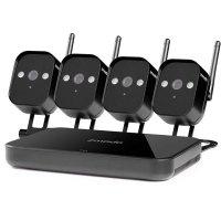 Цифровой HD Wi-Fi видеокомплект на 4 компактные камеры Zmodo mini Wi-Fi IP