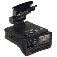 Автомобильный SuperHD видеорегистратор 2 в 1 с радар-детектором Street Storm STR-9970 Twin