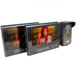 Беспроводной домофон с записью и датчиком движения Kivos Black Pro Duos