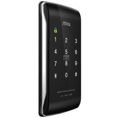 Накладной электрический кодовый карточный дверной замок Milre MI-450S
