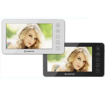 Проводной цветной видеодомофон с записью видео по движению Tantos Prime