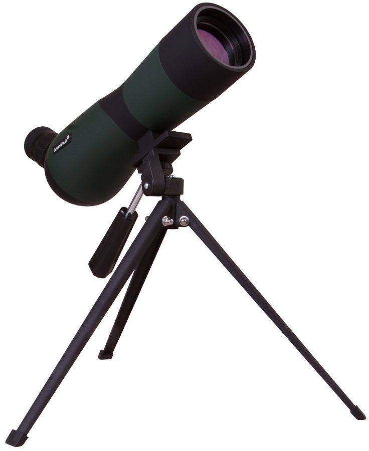Зрительная оптическая труба с наклонным окуляром Levenhuk (Левенгук) Blaze BASE 70