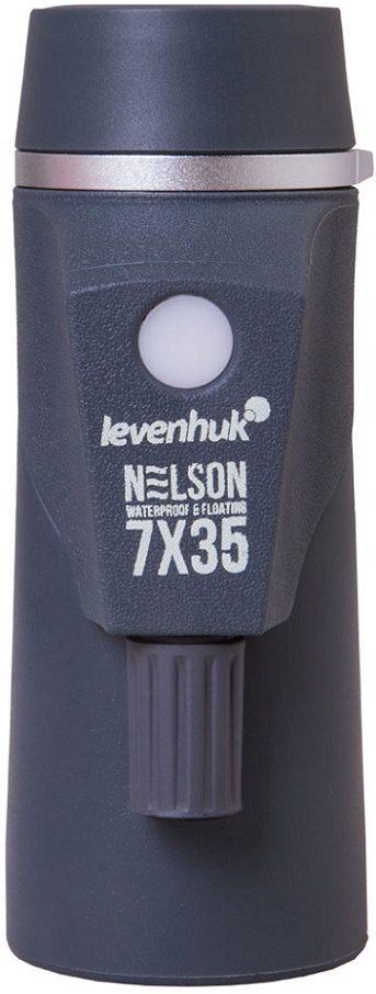 Морской монокуляр с компасом и дальномером Levenhuk (Левенгук) Nelson 7x35