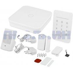 Беспроводная GSM Wi-Fi сигнализация охранная с приложением для смартфонов Dinsafer NOVA Advanced