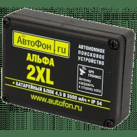 GPS трекер для автомобиля с аудиоконтролем АвтоФон Альфа-Маяк 2XL