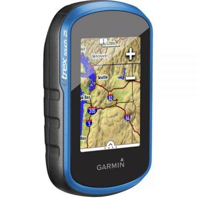 Туристический GPS/Глонасс навигатор с сенсорным экраном Garmin eTrex Touch 25
