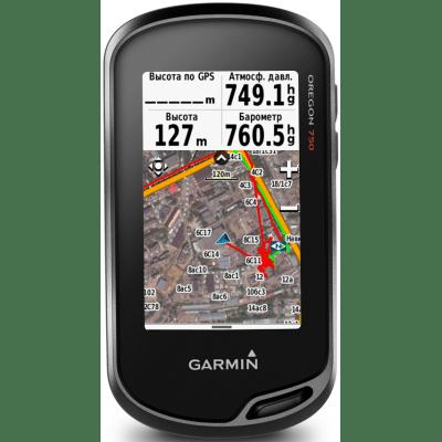 Портативный туристический GPS навигатор Garmin Oregon 750T