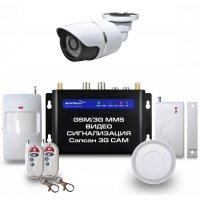 Беспроводная GSM MMS сигнализация с уличной камерой Sapsan GSM MMS Street 3G Cam