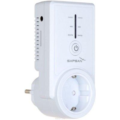 Умная GSM розетка с датчиком температуры и дистанционным управлением Sapsan PRO 10