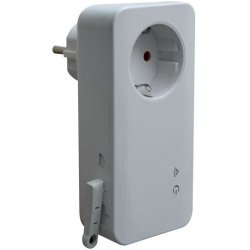 Умная GSM розетка с датчиком температуры и дистанционным управлением SimPal-T40