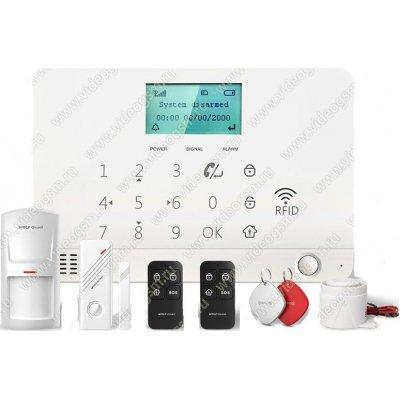 Беспроводная GSM сигнализация с поддержкой RFID карт Страж Профи-GSM
