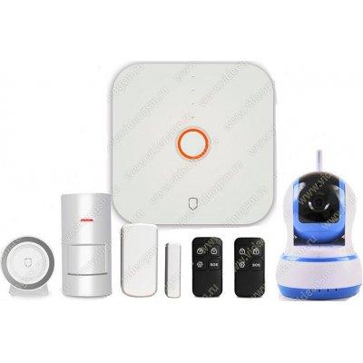 Беспроводная охранная Wi-Fi сигнализация с камерой Страж Видео-Alarm