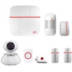 Беспроводная охранная GSM Wi-Fi сигнализация с камерой Страж Видео-Home