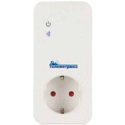 Умная GSM розетка с датчиком температуры и дистанционным управлением Телеметрика Т40
