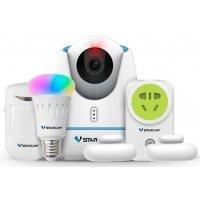 Беспроводной IP Wi-Fi комплект охранной сигнализации (умный дом) Vstarcam E27