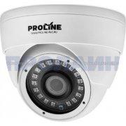 Купольная гибридная камера видеонаблюдения Proline PR-HD2222F