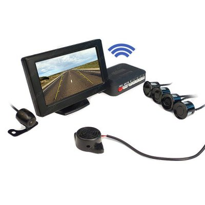 Беспроводной парктроник с камерой заднего вида ATS602C-W