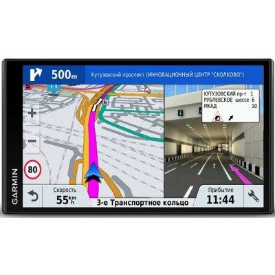 Автомобильный GPS навигатор с пробками Garmin DriveSmart 61 RUS LMT