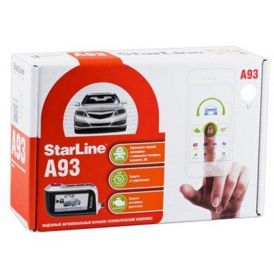 Автомобильная сигнализация с автозапуском и GSM интерфейсом StarLine A93 GSM