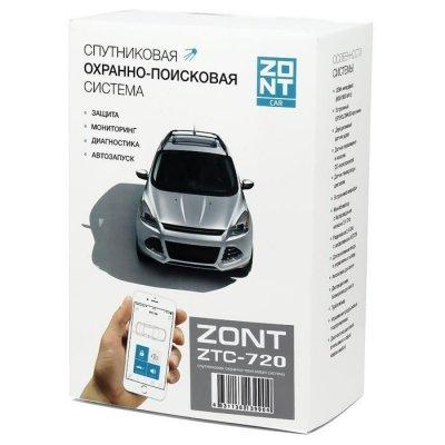Спутниковая охранно-поисковая система (сигнализация) ZONT ZTC-720