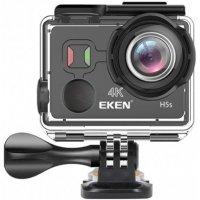 Экшн камера 4K 12МП c Wi-Fi модулем и аква-боксом EKEN H5s Black