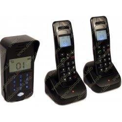 Беспроводной аудиодомофон с функцией управления замком Домовёнок 1+2