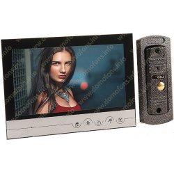 Цветной видеодомофон с вызывной панелью и записью Eplutus V90RM