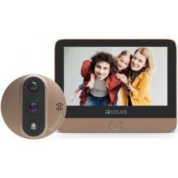 Дверной wi-fi видеоглазок с монитором и записью по движению EQUES A27 VEIU mini 2