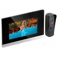 Цветной проводной видеодомофон с записью и датчиком движения HDcom S-711T