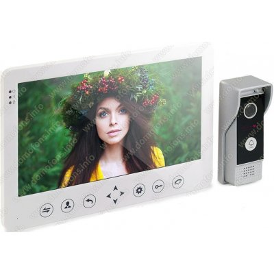 Цветной видеодомофон с записью по движению HDcom W-105