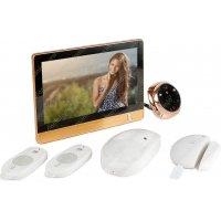 Дверной wi-fi видеоглазок с функциями сигнализации и записью i-Corder iHome-4R