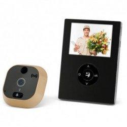 Дверной wi-fi видеоглазок с записью по датчику движения EQUES R21P