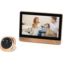 Дверной Wi-Fi/GSM видеоглазок с функциями сигнализации и записью iHome-4R