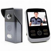 Беспроводной видеодомофон с записью фото Kivos 303