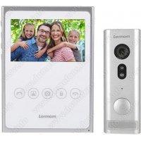 Беспроводной GSM видеодомофон с записью фото Lermom CL40