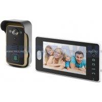 Беспроводной видеодомофон с записью и датчиком движения Proline PR-RF701HM