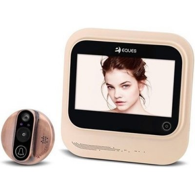 Дверной wi-fi видеоглазок с датчиком движения и записью SITITEK EQUES R26S
