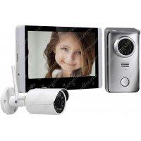 Беспроводной видеодомофон с камерой и записью Skynet C70