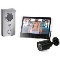 Беспроводной видеодомофон с камерой и записью Skynet R80