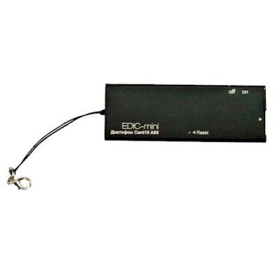 Цифровой скрытый мини диктофон с записью на microSD карту EDIC-mini Сard16 A95M