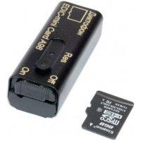 Цифровой скрытый мини диктофон с активацией голосом Edic-mini Card A98