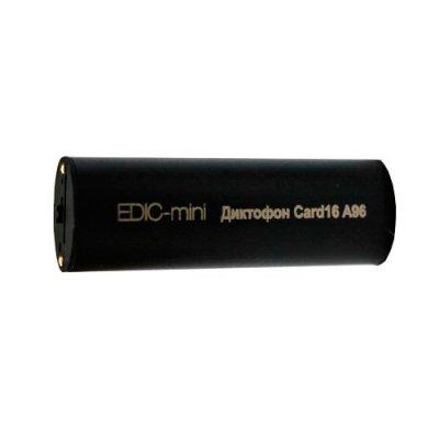 Скрытый цифровой мини диктофон для записи разговоров Edic-mini Card 16 A96